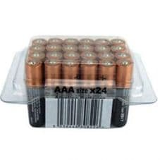Duracell AAA Batteries - Tub Of  24